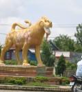 svayreang provincal town statue