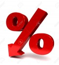 10042361-red-percent-sign-denoting-a-decrease-Stock-Photo