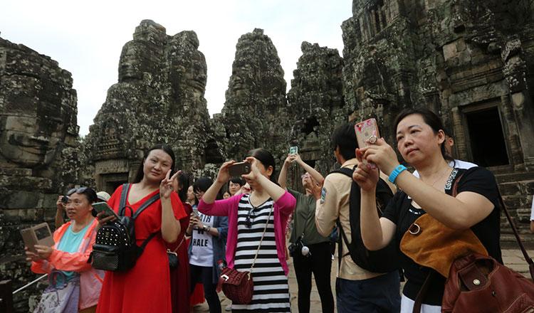 관광객 증가