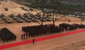 03캄-중 합동군사훈련