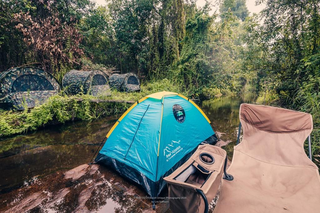 시엠립꿀랜 camping_on_kulen_mountain