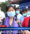Screenshot of Or Vandine's interview with BTV at Oddar Meanchey border. BTV