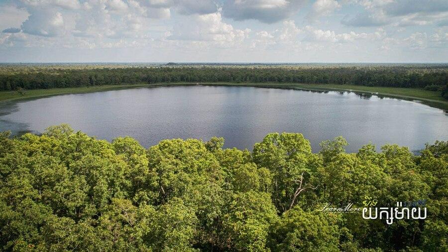 라따낙끼리에 위치한 손 닿지 않은 호수 벙예악마이. 관광지로 개발될 것이라는 계획이 발표됐다