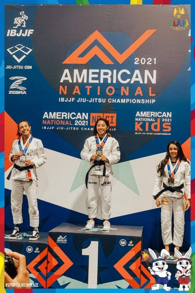 아시엔게임, 아세안게임 금메달리스트인 칸 제사가 미국 대회에서도 금메달을 획득했다