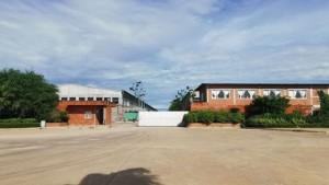 2021-06-09 캄보디아 스와이리응 바벳시에 있는 한 공장이 코로나19 확산으로 가동이 중단됐다