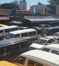 2021-06-14 껌뽕츠낭 택시기사의 코로나 전염으로 인해 모든 종류의 택시 출입이 일시적으로 금지됐었다