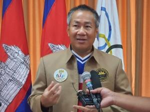 2021-06-14 왓 쩜라은 올림픽위원장은 2023년 SEA게임 개최가 문제 없을 것이라고 말했다