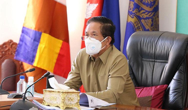 쿠응스렝 프놈펜 시장은 증상이 경미한 코로나19 환자들에게 자택 치료가 좋은 선택이 될 것이라고 밝혔다.