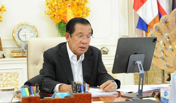 훈센 총리는 코로나19로 인한 캄보디아 국가 파산설을 전면 부인했다