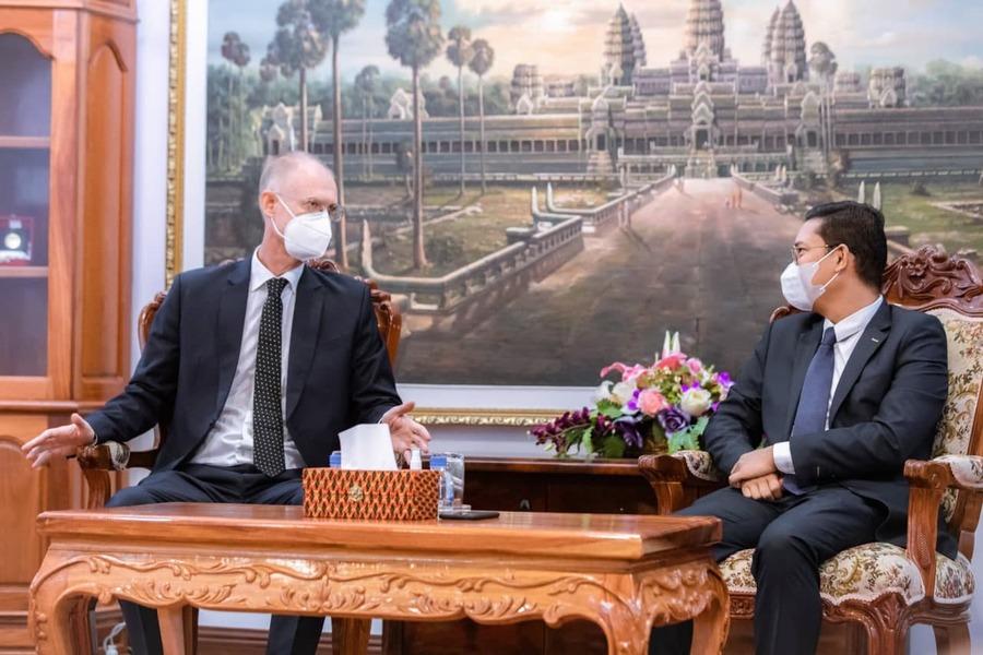 UNDP와 캄보디아 사회부 차관 간의 회담에서 캄보디아의 장애인 역량 강화가 성공적이였다고 칭찬헀다