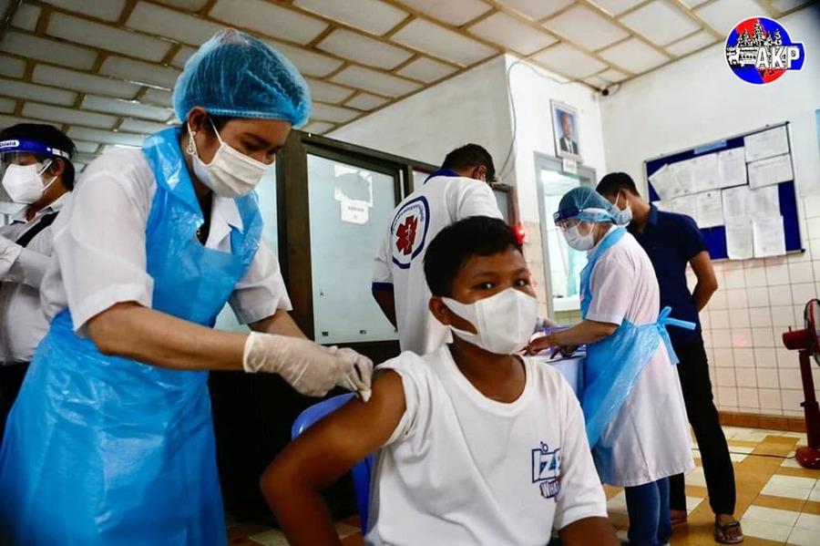 청소년 백신 접종