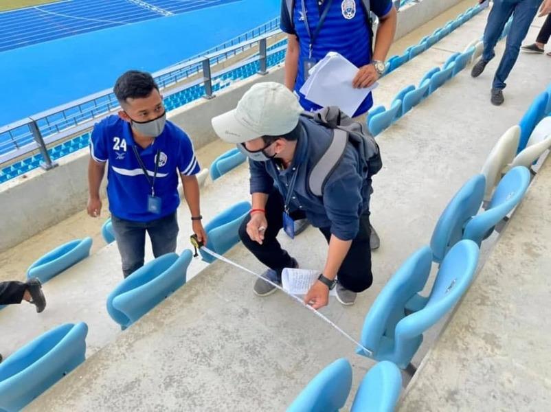 캄보디아 모로독데쪼 종합경기장에서 스즈키컵 유치를 위한 입찰을 했다